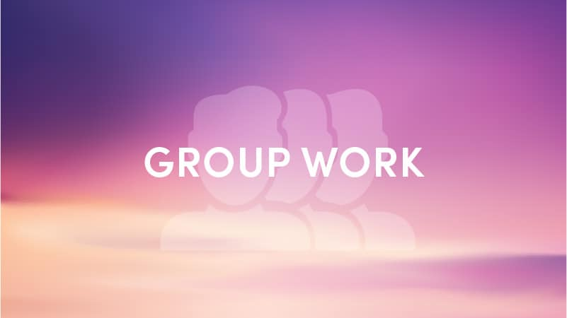 group work Key for Change services