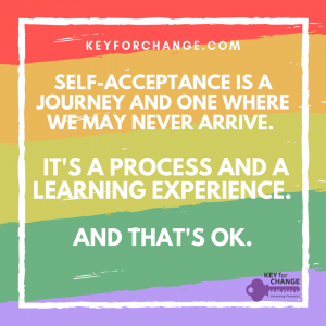 self acceptance is a journey