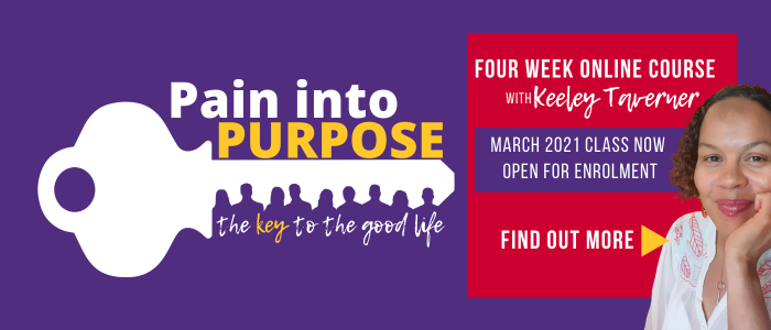Pain into Purpose   Key for Change