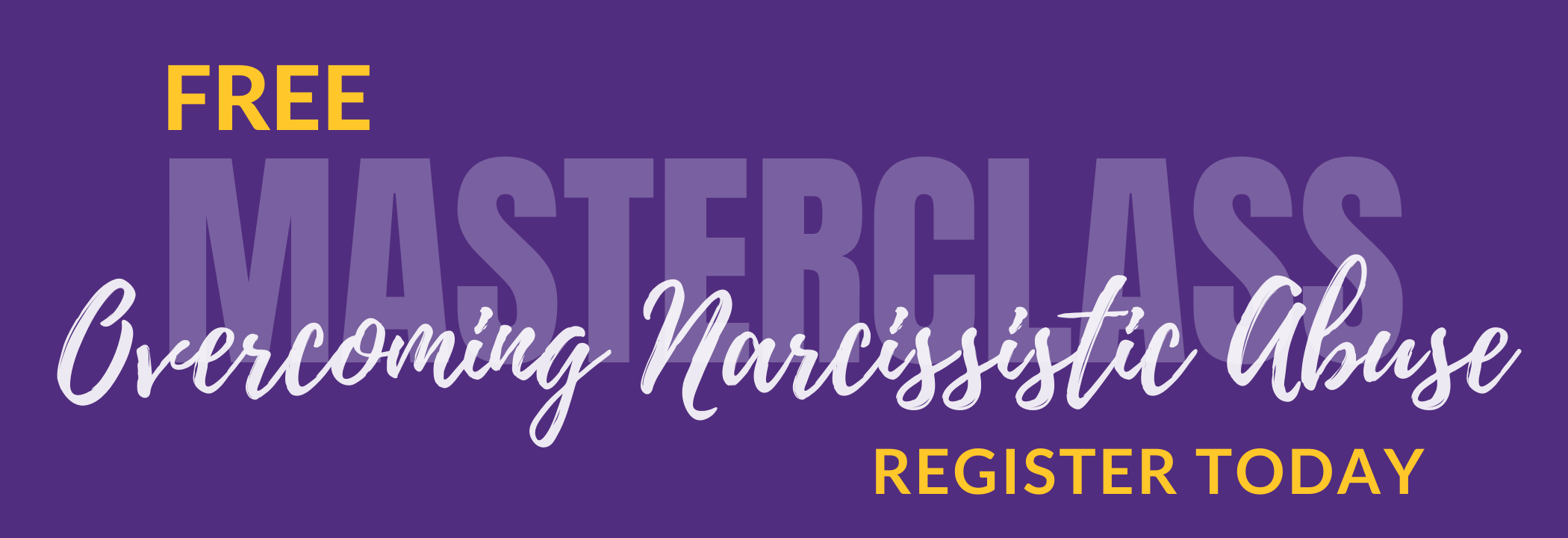 overcoming narcissistic abuse